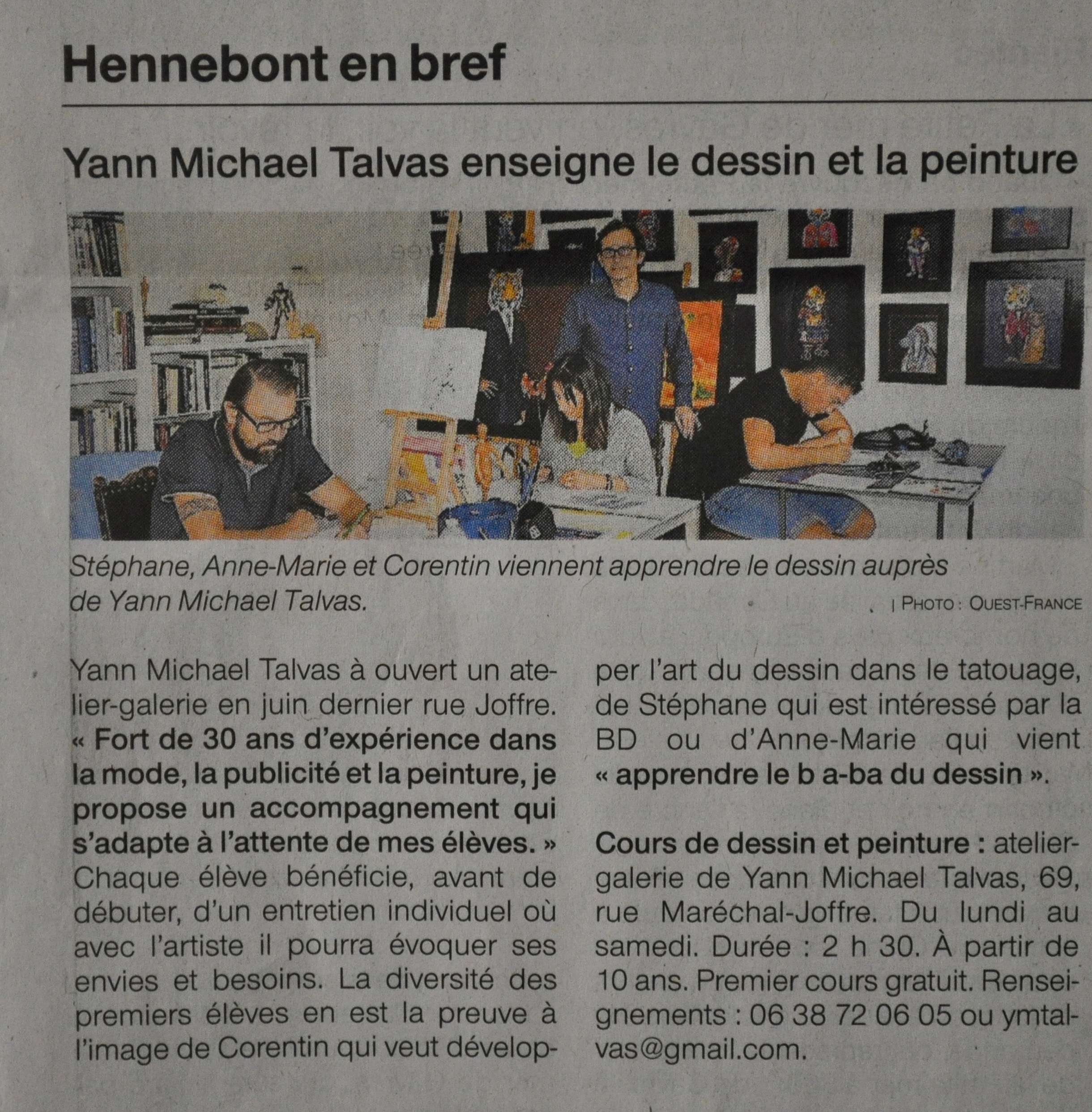 Ouest-France, 03/10/2019