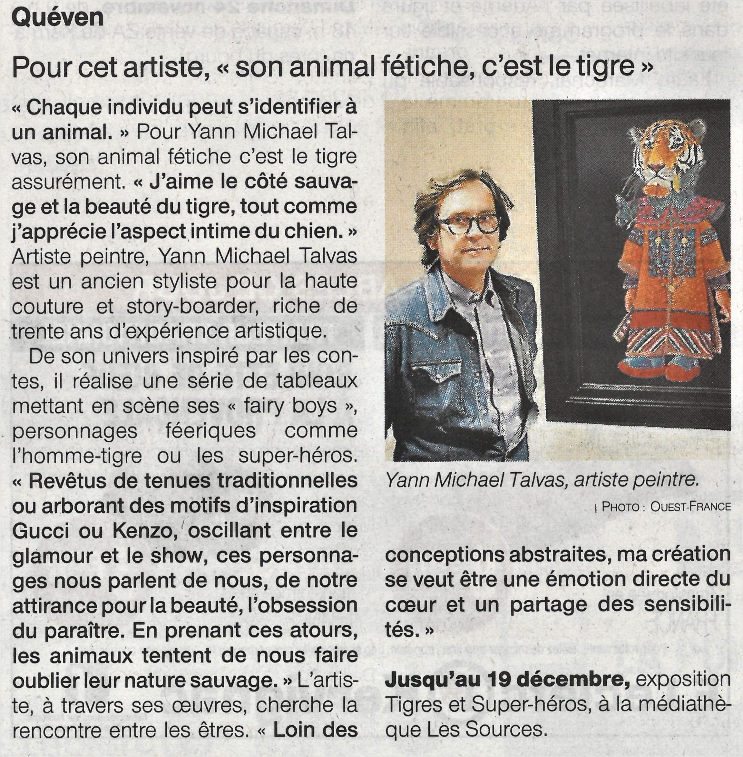 Ouest-France, 19/11/2019
